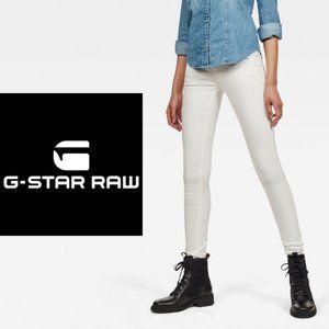 G-Star Lynn-D Mid-Waist Super Skinny Jeans - 27x32